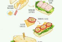 Sándwich y bocadillos
