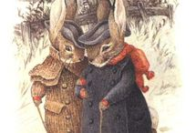 Beatrix Potter and Jil Barklem / Vintage illustrations