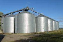 Grain storage silo, Plastic Granules Storage Silo suppliers in India