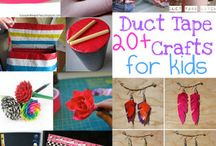 Duct tape crafts / by Christine Milas