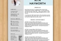 resume ideas / attract them of urself ;D