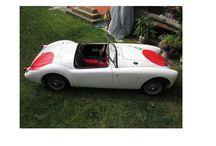 AUTO D'EPOCA / CAR HISTORY ROADSTER MGA DEL 1958