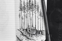 Notebook art