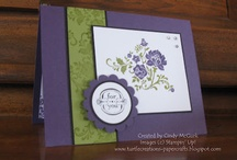 DIY & Crafts ~ Cards ~ Creations For All Occasions ~ / by Sue Berberick
