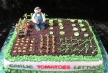 garden cakes / by Sherry Smith Lamb