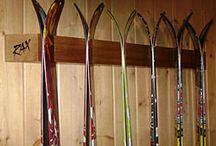Ski stativ