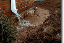 Drainage Problems / Do any of these pictures look like something you have experienced? Check out our range of products to help protect your home's foundation and landscape! www.ndspro.com/diy-drainage