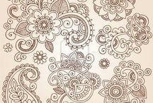 Мехенди. Рисунки