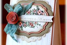 SU Framelits/Dies Ideas / ideas for your different die cutting!! / by Valerie Beary