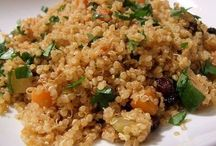 Quinoa con pasas y zanahoria
