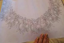 Эскизы ручной вышивки