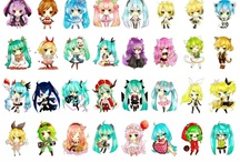 Anime / Anime, vocaloids, drawing, kawaii / by UniverseForever<3 #RaptorSquad (Tomato Princess)