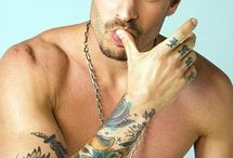 hot men with tattoos / by Monique Toribio