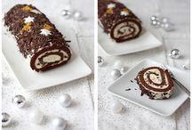 Bûches de Noël / Inspirations : bûches de Noël - Christmas Cakes Inspirations