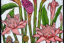 Hawaiian florals