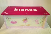 Baby girl toy box