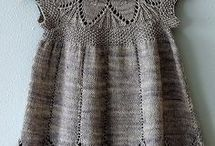 sukienki druty