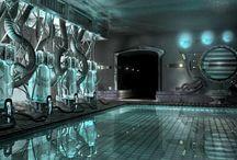 sci fi laboratory