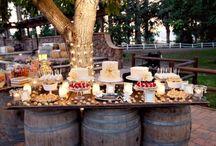 Mesa de barril de vinho