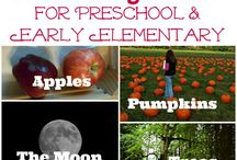 Fall themed activities for kids