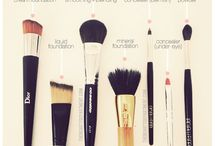 "Make up / ""Make up is not a tool to make an ugly thing beautiful, but to magnify the beauty that already exists"""