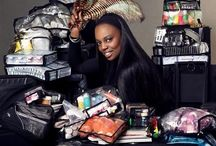 Pat McGrath / Need I say more?  The Queen herself.