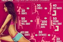 Workouts / Exercises to get thinner and lose weight