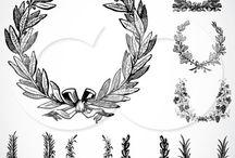 Grafica Vettoriale / elementi decorativi vettoriali