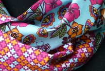Kindersjaals - handmade / Scarfs - 'For girls only'!