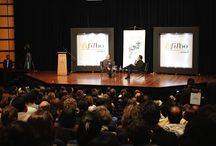Vargas Llosa en la FilBo 2014 / Recuento visual de las charlas de Mario Vargas Llosa en la 27 FilBo.
