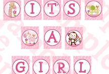 Baby Shower - Girl / by LuVena Hill