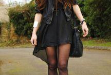 Style in the Dark / Abiti ed outfit con uno stile oscuro.