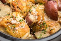 Slow Cooker Recipes / Chicken & parmesan