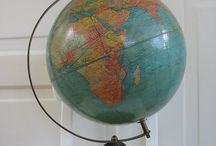 Globes and maps / by D B