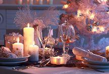 dekoracje stołów-Boże Narodzenie