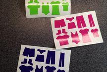 StickItVinylDecals / DIY custom vinyl decals  Find a spot and stick it!  www.imagineitvinyl.ca