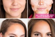 Makeup tricks and tips