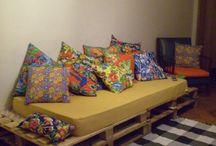 cama sofá Palete