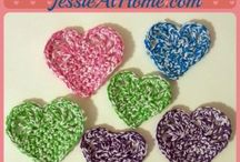 Crochet Hearts / Crochet heart patterns and other fabulous examples of crochet hearts.
