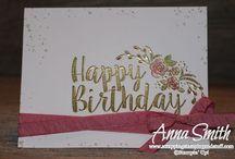 stampin up: Big on Birthdays