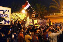 #GolpeenEgipto / Ejército derriba al Presidente Mohamed Mursi. En las calles siguen las protestas y enfrentamientos entre opositores y seguidores de Mursi