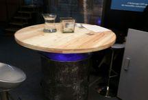 table haute Fût et Palette