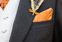 Dried flowers weddings inspiration - orange / Add a zing to your big day with these wedding flowers!