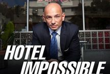 Hotel Impossible / Hotel expert Anthony Melchiorri travels the country helping failing hotels turn over a new leaf. His years of experience in the hospitality industry help him to give management advice, oversee remodeling projects, and create lasting solutions so the properties can stay open, save their image, and attract new clientele.