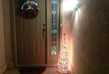 Created it myself / Tomato cage tree - just wrap lights around an upside down tomato cage, plug in & wow!