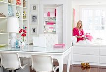 Office/Craft Space / by Vicki Crouch