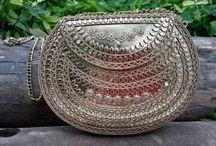 Bolsas indianas / Bolsas no estilo boho, lindas, exclusivas e descoladas!