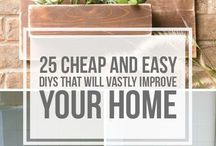 DIY's to improve your home