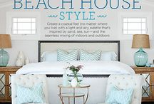 Coastal and Beach Colours and Decor Ideas / Coastal and beach theme paint colours, decorating, decor and other room ideas