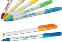 Colorful Pens for Promoting Your Business / Promoting your business with promotional pens is a no brainer. These pens will travel around spreading brand awareness and they cost very little.